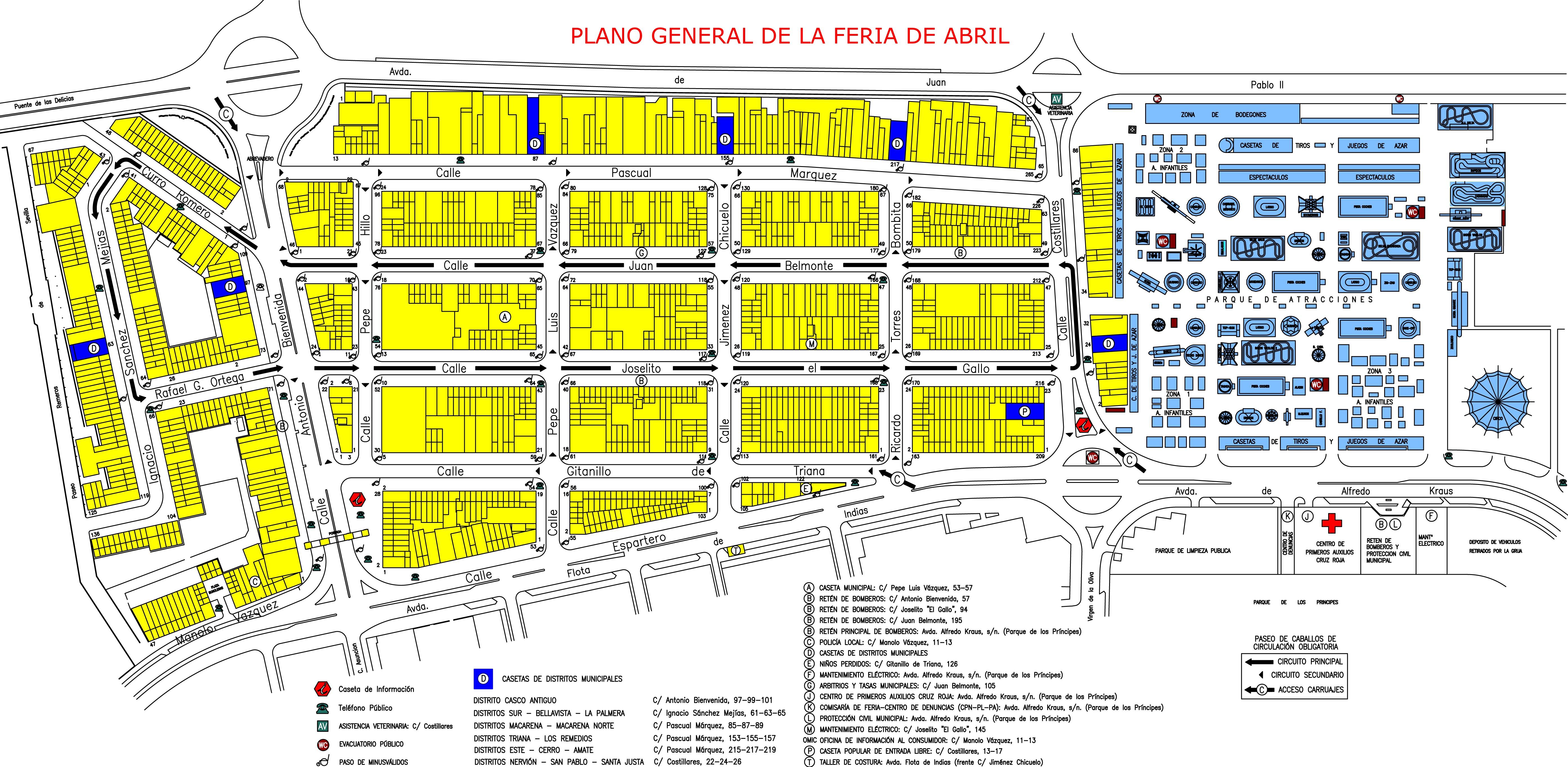 PLANO FERIA DE ABRIL