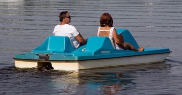 barca de pedales rio