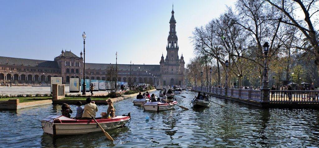 barcas plaza de españa