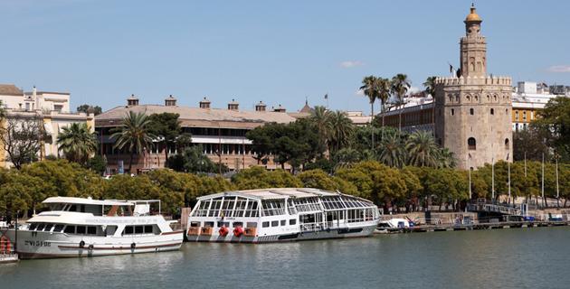 Embarcaciones en Sevilla