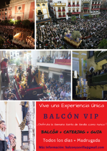 Balcón para ver la Semana Santa de Sevilla